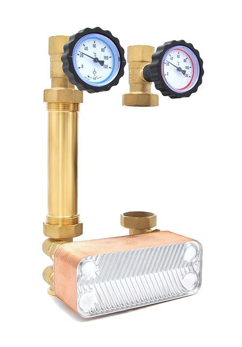 DN25 - 30kW - Ohne Pumpe