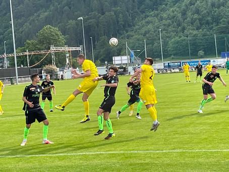 1. Mannschaft mit verdienter Niederlage in Thalwil