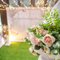 麋鹿小姐 公版婚禮背板套組 l  婚禮佈置  浪漫庭園花拱門