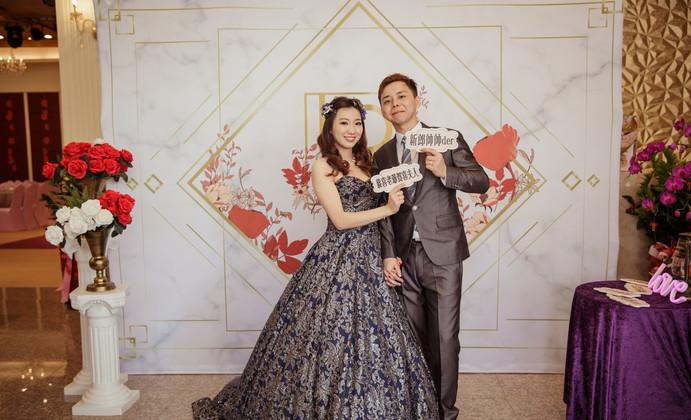 麋鹿小姐 婚禮背板出租 台北婚禮佈置 背板租租 |澄花時光