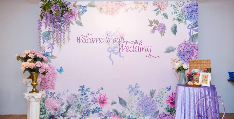 麋鹿小姐 婚禮背板出租 台北婚禮背板租借  花想世界
