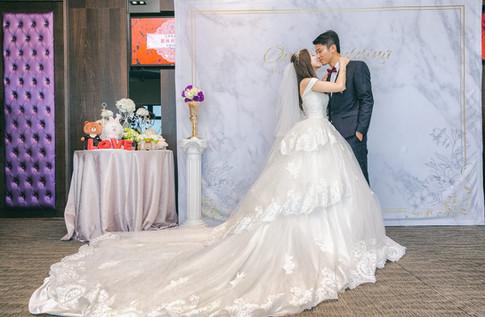 麋鹿小姐 婚禮背板出租 台北婚禮佈置 背板租租 l 經典大理石