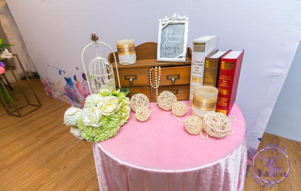 麋鹿小姐 婚禮背板出租 背板租借 |水染花
