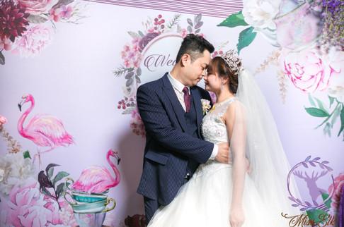 麋鹿小姐 婚禮背板出租 背板租借 台北婚禮背板 佛列格午茶