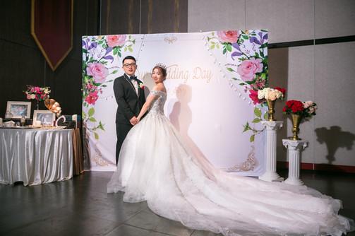 麋鹿小姐婚禮背板 背板出租 台北婚禮背板 |古典繁花