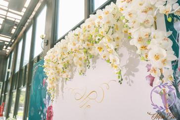 麋鹿小姐 婚禮背板出租 台北婚禮佈置 背板出租 |維洛納之戀