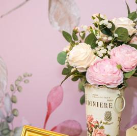 麋鹿小姐 婚禮背板出租l 粉紅甜蜜