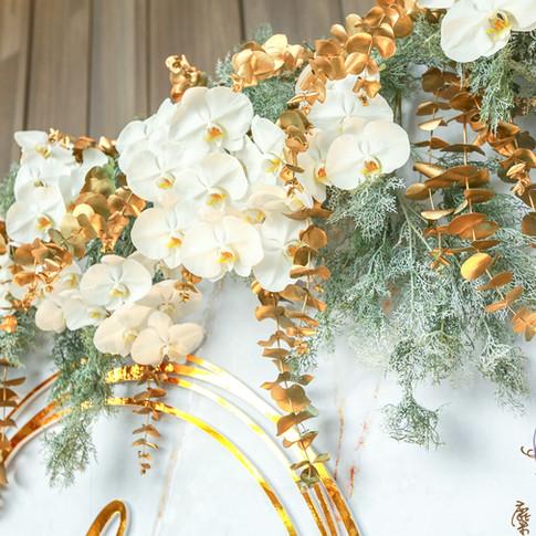 麋鹿小姐 公版婚禮背板套組 l  婚禮佈置  懷特夫人