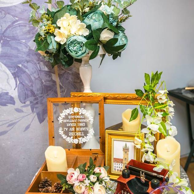 麋鹿小姐 婚禮佈置 台北婚禮佈置 婚禮佈置 | 悠藍回憶