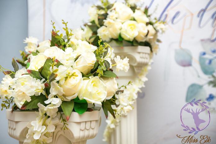 麋鹿小姐 婚禮背板出租l 花寄歲月