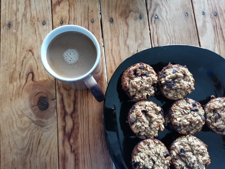 Muffins de avena sin azúcar