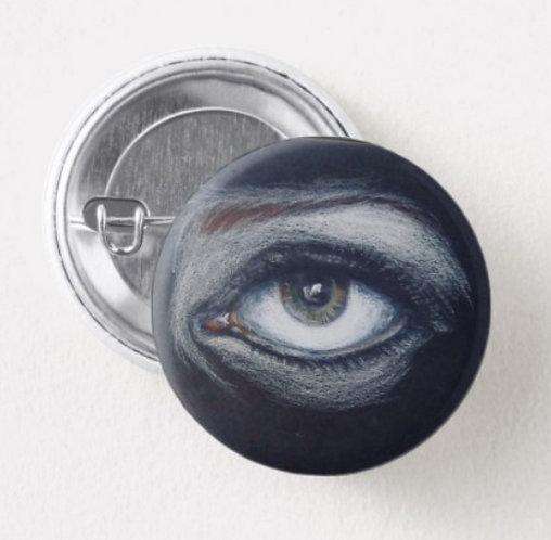 """""""I See"""" Circular Pin"""