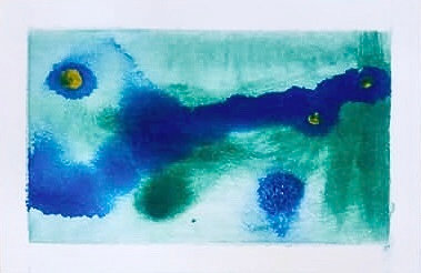 On A Blue-Green Sea