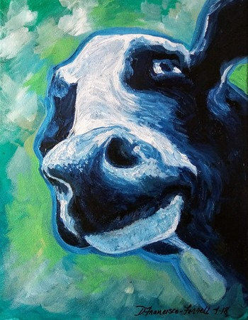 Blue Cow, Moo Cow