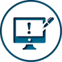 Our website copy icon