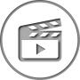 Our animated video icon