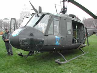 Huey Retirement 2004