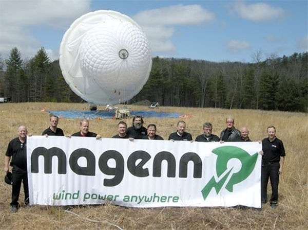 Magenn Powe Team with the Magenn Air Rotor System (MARS)