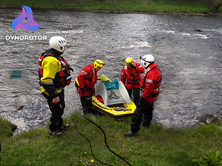 Emergency Crew Deploy DynoRotor in River