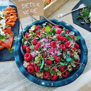 La salade du jour quinoa crudités réputé