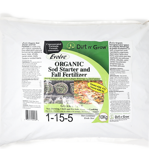 Lawn Fertilizer 1-15-5