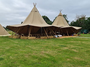 Two Tipis Essex Earls Colne