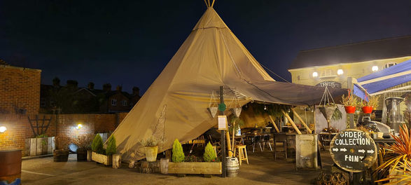 Tipi - Drapers Earls Colne