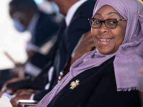 Tanzanian President Samia: We're here to show that women can lead