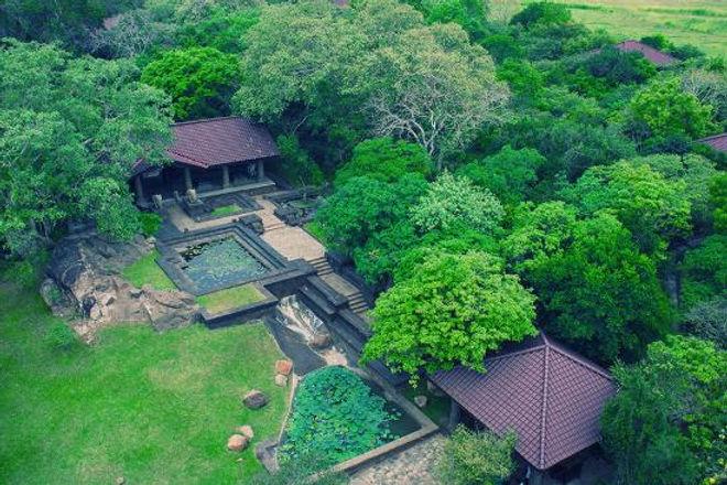 Anuradhapura &  my spiritual retreat at the forest rock Garden Resort