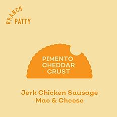 Jerk Chicken Sausage Mac & Cheese