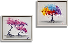 Dreaming of the Seasons (Diptych)