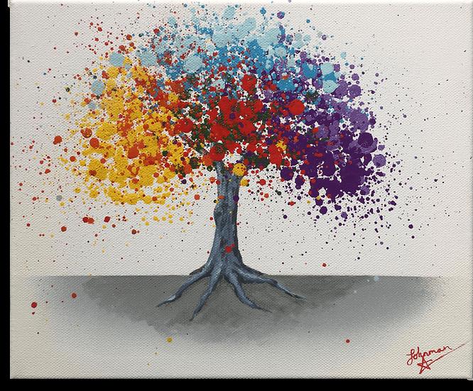 Abstract Tree - Original Artwork