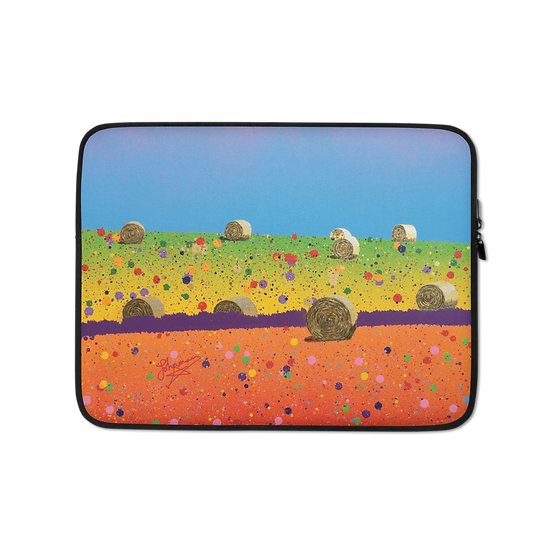 Laptop Sleeve - Fields of Gold by Johnman