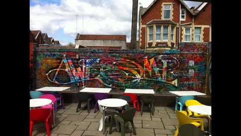 Johnman Awesome Wall: Upfest 2012