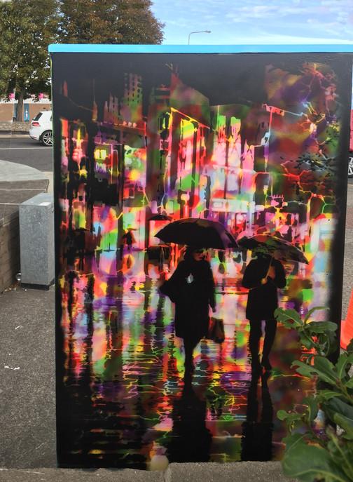 Johnman - Embrace the Rain (verso), Dublin Canvas 2020