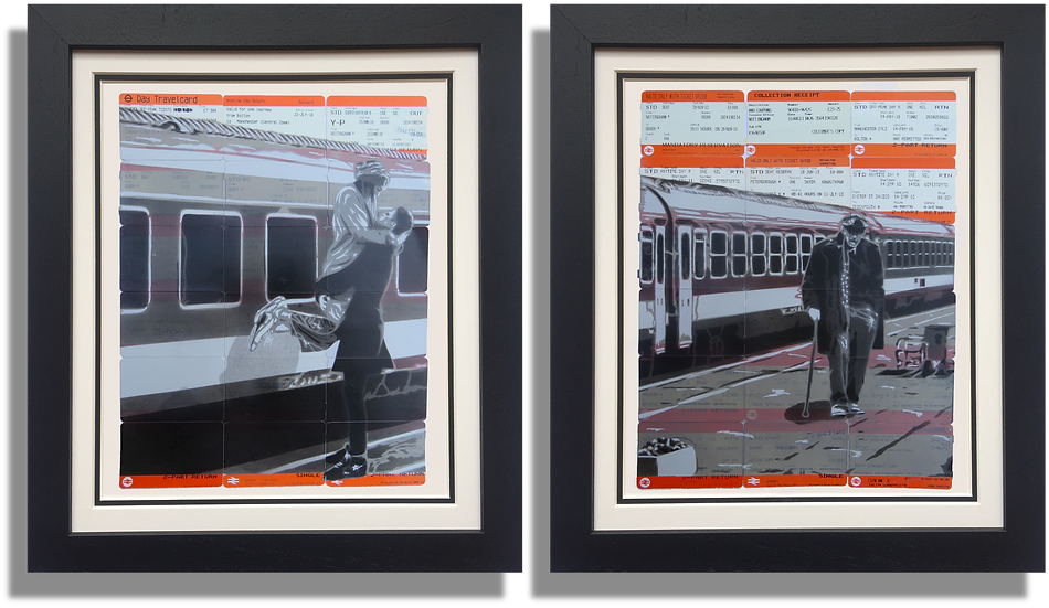 Offending the Prude II - Diptych Print