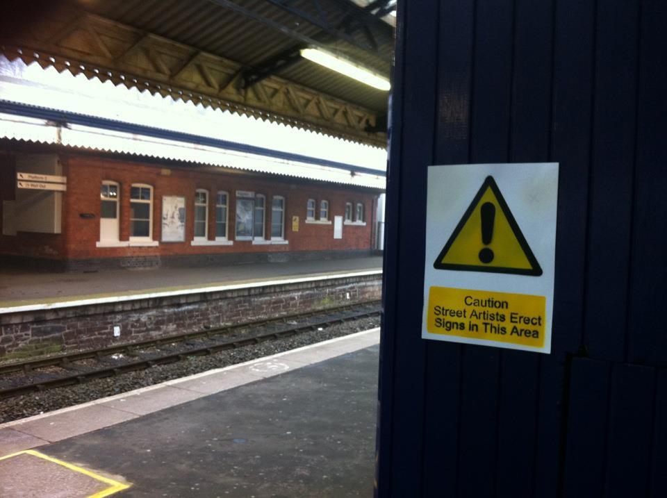 Johnman Paignton Railway Station, March 2012