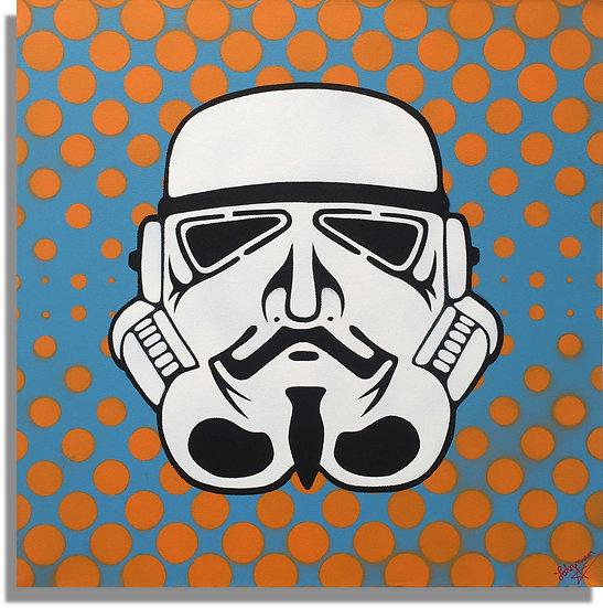 Johnman 99% Stormtrooper Pop Art Guy Fawkes V for Vendetta Spraycan
