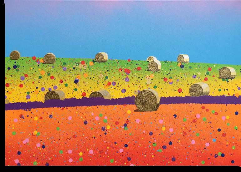 """""""Fields of Gold"""" - Giclée Print"""
