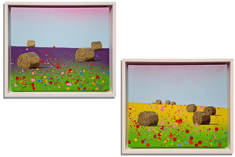 Bales (Diptych)