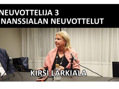 #Neuvottelija Finanssialan neuvottelut with Sami Miettinen