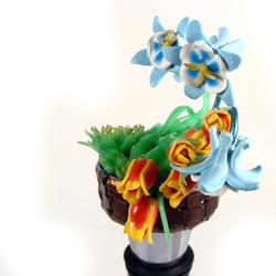 Garden flower basket