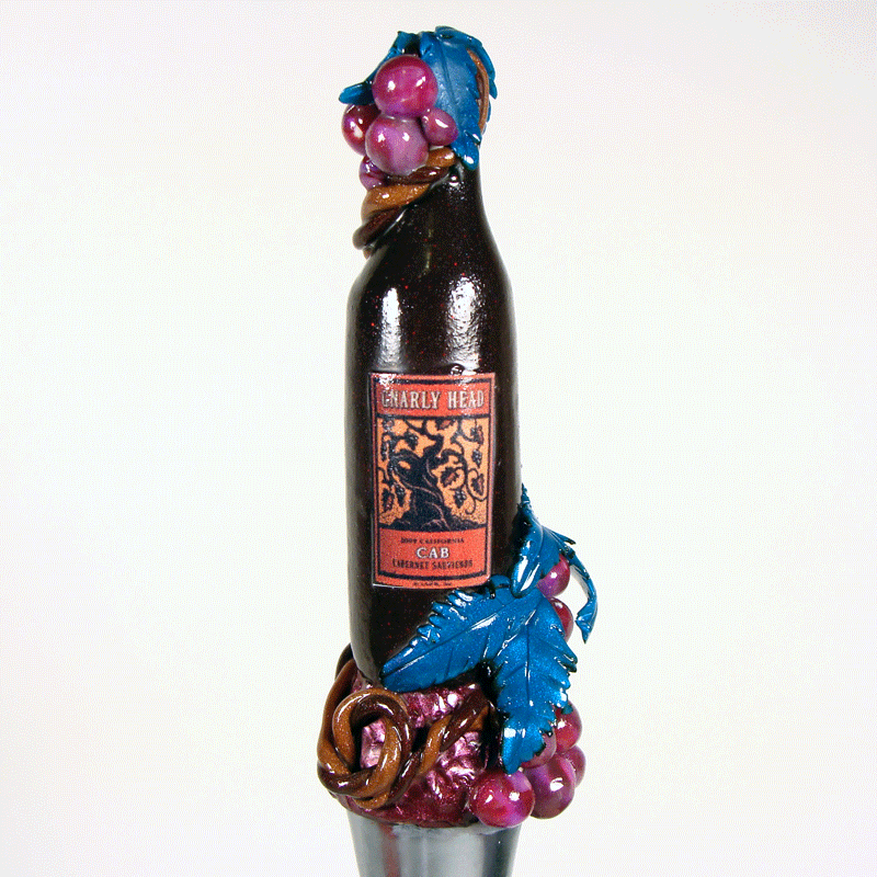 Gnarly Head wine bottle