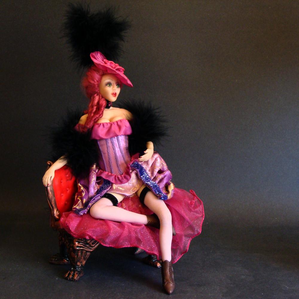 Victorian Saloon Girl