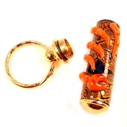 Crab legs key chain