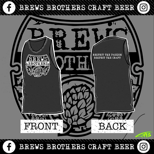 Brews Brother's - Tank Top - Charcoal