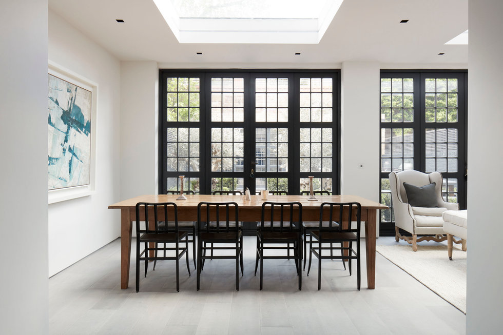 Open Plan Dining area at Walham Grove, Fulham Broadway, London