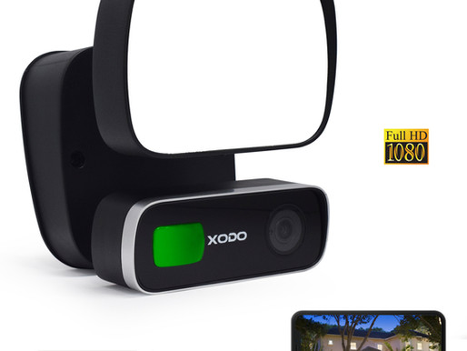 Introducing the Xodo Smart Security Floodlight