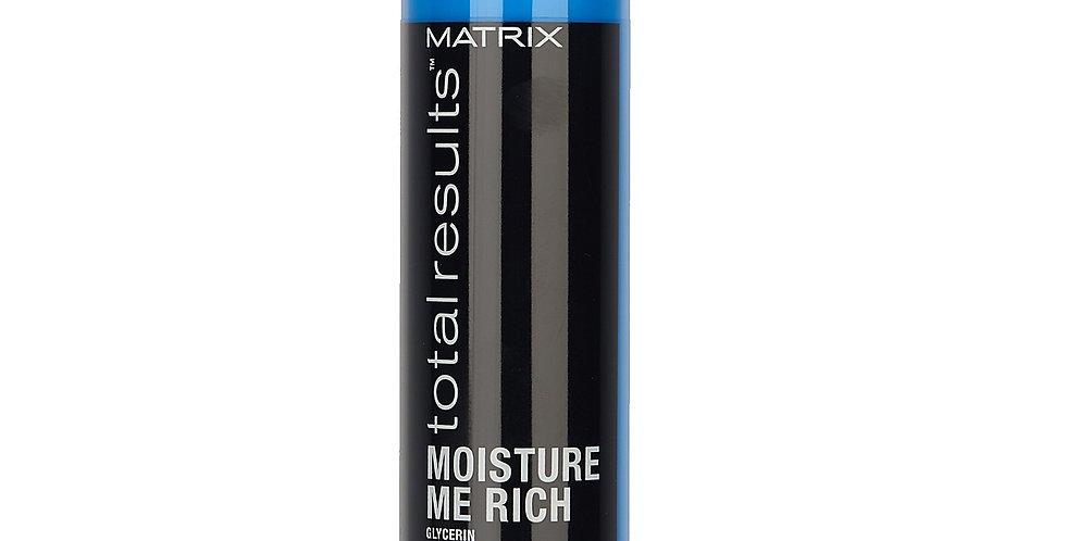 Кондиционер для увлажнения сухих волос с глицерином MATRIX Moisture Me Rich300мл