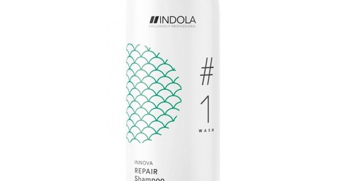 Шампунь восстанавливающий Indola Innova Repair Shampoo 300 мл.